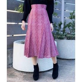 モールレーススカート (ピンク)