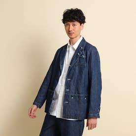 525DENIMワークジャケット (ブルー)