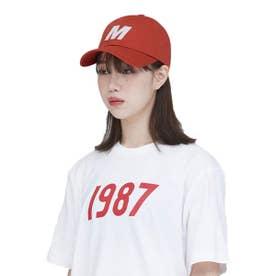 M BALL CAP (ORANGE)