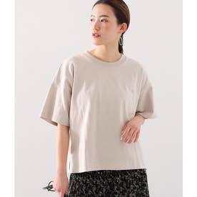 ヘビーウェイトオーバーサイズTシャツ(グレージュ)