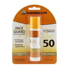 日焼け止め 14g フェイスガード サンスクリーンスティック SPF50 - #1 Fragrance