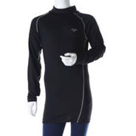 ADCJ-110-113P ジュニアコンプレッションウェア (01シャツ:ブラック×グレー)