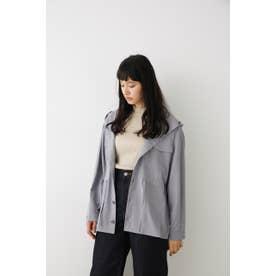 ミリタリーポケットフーディシャツ D/PUR3