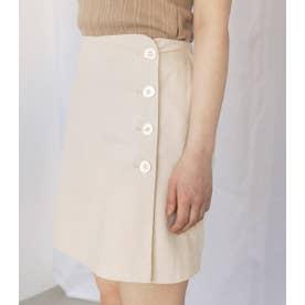 ミニマルショートスカート O/WHT1