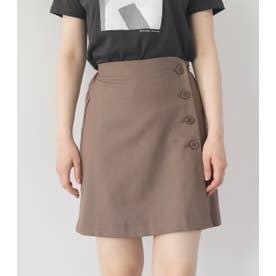 ミニマルショートスカート L/BRN1