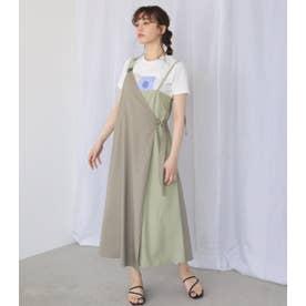 アシメジャンパースカート L/KHA1