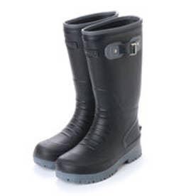 メンズ SuperLight レインブーツロング丈 軽量 防滑 長靴 aw_17081 (BLACK)