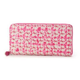 【Afd】SIBORI ZOME ラウンド型財布 (ピンク)