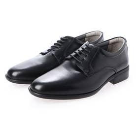 SFW 足に馴染みやすいソフトな牛革を使用した、超軽量ビジネスシューズ/303 (ブラック)