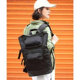 CORDURA 2way マルチポケットナップリュック バックパック (ブラック)