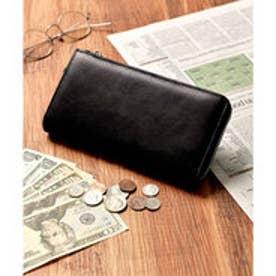 本革 クラシックレザー Lジップ 長財布 (ブラック)