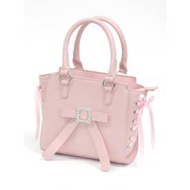 キラキラ合皮BAG (ピンク)
