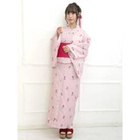 CoquetishRose浴衣SET (ピンク)