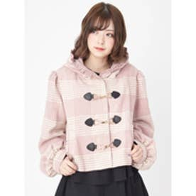 ウールコート (ピンク)