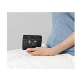 マイティティ三つ折りボックス財布 ブラック