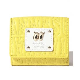 ピーク ア ブー 三つ折りBOXミニ財布 イエロー