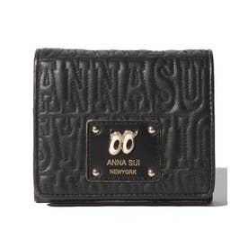 ピーク ア ブー 二つ折りBOX財布 ブラック