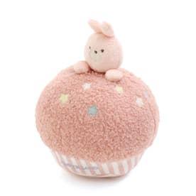 ベビー布製おきあがりこぼし (ピンク)