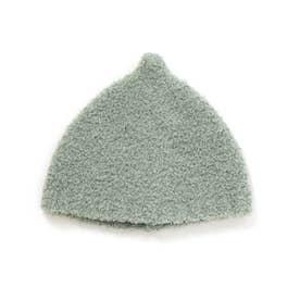 とんがりベビーニット帽 (グリーン)