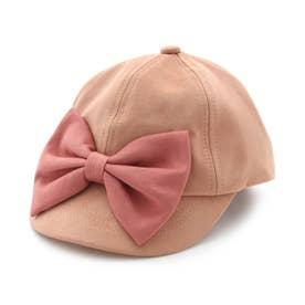 リボンキャップ (ピンク)
