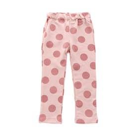 デイリーストレッチ総柄レギンスパンツ(3柄6色)_10分丈  10分丈 (ピンク)