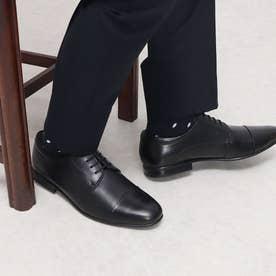 ビジネスシューズ メンズ 本革 ビジネススニーカー (ブラック)