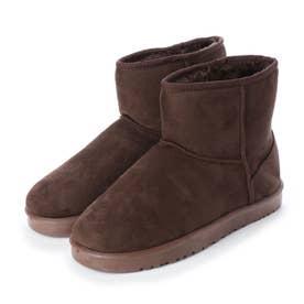 SFW ふわふわのボアが暖かくて快適な履き心地!軽くて歩きやすいムートンブーツ/2319 (ダークブラウン)
