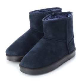 SFW ふわふわのボアが暖かくて快適な履き心地!軽くて歩きやすいムートンブーツ/2319 (ネイビー)