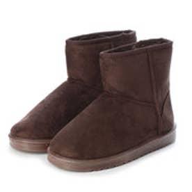 SFW ふわっふわのボアが暖かくて快適な履き心地♪軽くて歩きやすいムートンブーツ/3519 (ダークブラウン)