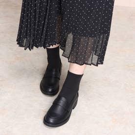 SFW おじ靴'マニッシュコインローファー/3571 (ブラック)