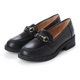 SFW AAA? feminine おじ靴'マニッシュビットローファー/3572 (ブラック)