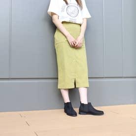 SFW 履き心地やわらか、美シルエットサイドゴアブーツ/3590 (ブラックスエード)