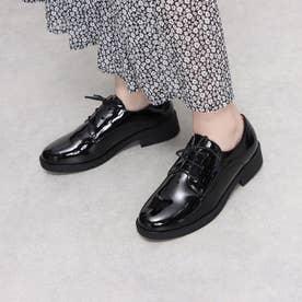 SFW おじ靴'プレーントゥマニッシュシューズ/3570 (ブラックエナメル)