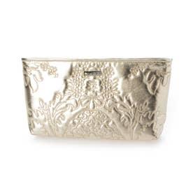 abbi Fashionバッグ Kampala クラッチ シャンパンゴールド (ゴールド)
