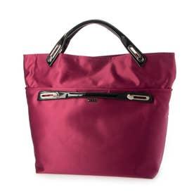 abbi Fashionバッグ 2Way コンバーティブルトート ピンク (ピンク)
