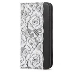 iPhone6s/6 Lace Diary (ブラック)