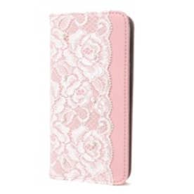 iPhone6s/6 Lace Diary (ホワイト)