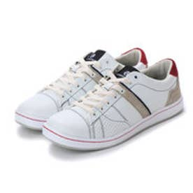 【BARNS soho street】Acupuncture ヨーク WHITE/NAVY/RED (WT/NV/RED)
