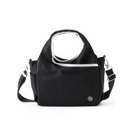 サークルデザインカートバッグ (ブラック)