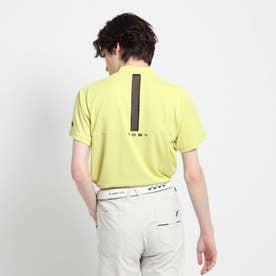 【coolcore(R)(クールコア)/UVカット】バックデザイン モックネックプルオーバー (イエローグリーン)