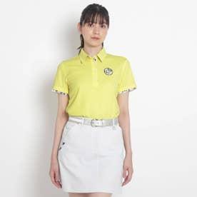 【coolmax(R)(クールマックス)】襟裏デザイン半袖ポロシャツ (イエロー系)