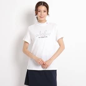 【Outlast/アウトラスト】半袖モックネックシャツ (ホワイト)