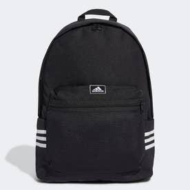 クラシック 3ストライプス バックパック / Classic 3-Stripes Backpack (ブラック)