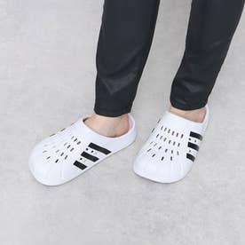 adidas/サンダル FY8970 (ホワイト×ブラック)