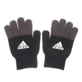 ジュニア 手袋 ベーシックニットグローブ CD4789 (ブラック)