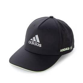 メンズ ゴルフ キャップ メタルロゴキャップ GL8843 (ブラック)
