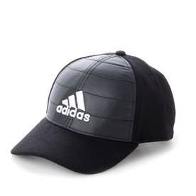 メンズ ゴルフ キャップ UVカット 中わた入り ウォームキャップ GU8636 (ブラック)
