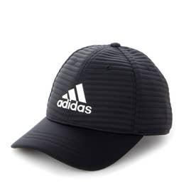 メンズ ゴルフ キャップ UVカット ウォームキルトキャップ GU8656 (ブラック)