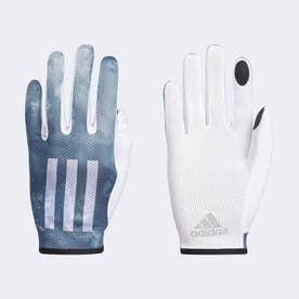 アディゼロ 軽量UVグローブ [Adizero Lightweight UV Gloves] (ブルー)