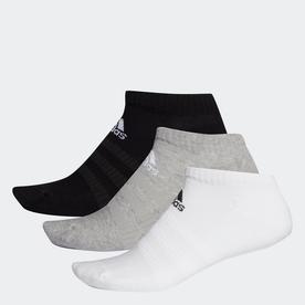 クッション ローカット ソックス 3足組み [Cushioned Low-Cut Socks 3 Pairs] (グレー)